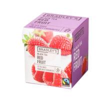 Bradley's Fekete tea / Piros bogyós gyümölcstea