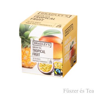 Bradley's Zöld tea / Trópusi gyümölcstea