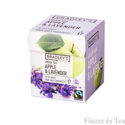 Bradley's Zöld tea / Alma - Levendula tea