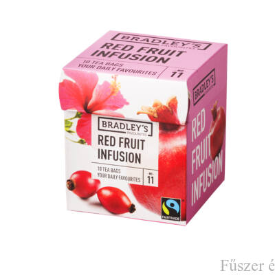 Bradley's Piros bogyós gyümölcstea